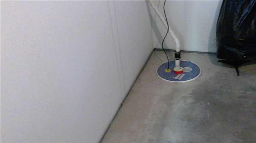 Total Basement Water Control in Two Rivers, WI - After Photo