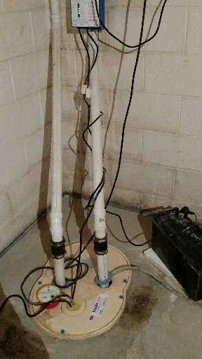Protecting Against Water with the TripleSafe Sump Pump in Whitelaw, WI - After Photo