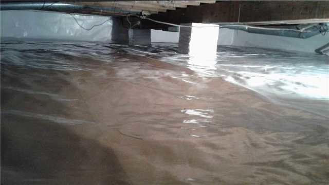 Crawlspace Water Removal in New London, WI