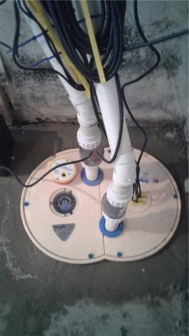 New Sump Pump Installation in Black Creek, WI