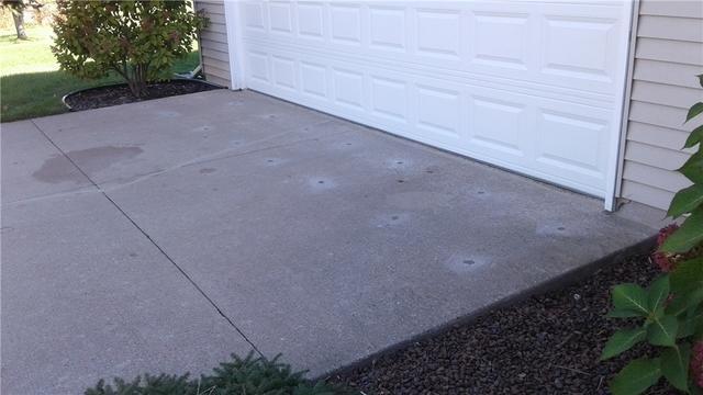 Raising Concrete Driveway in Greenville, WI