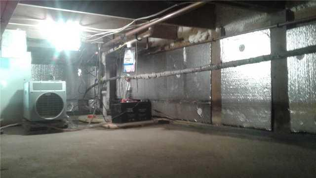Warming a Home in Sturgeon Bay, WI through a Crawlspace