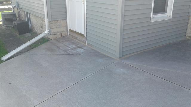Lifting Patio with PolyLevel Injection in Fond Du Lac, WI