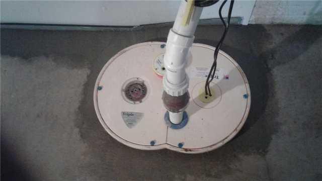 Upgrading Sump Pump in Neenah, WI