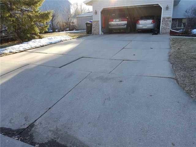 Eliminating an Unsafe Driveway with PolyLevel in Appleton, WI