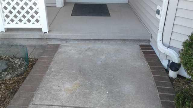 Raising a Walkway with PolyLevel in Green Bay, WI