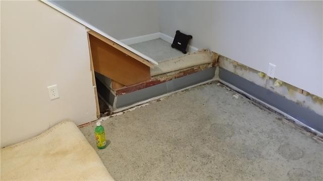Protecting a Furnished Basement from Water and Mold with DryTrak in Appleton, WI