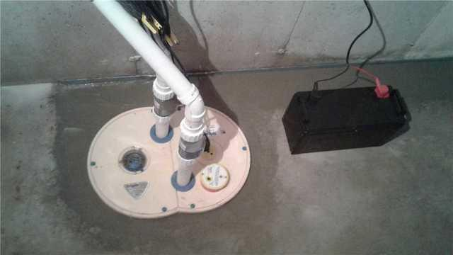 Keeping a Basement Dry with the TripleSafe in Lena, WI