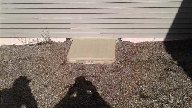 Crawlspace Waterproof Lock Door Installed in Menasha, WI
