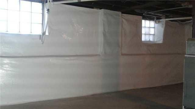 CleanSpace Installation Transforms Basement Walls in Oshkosh, WI