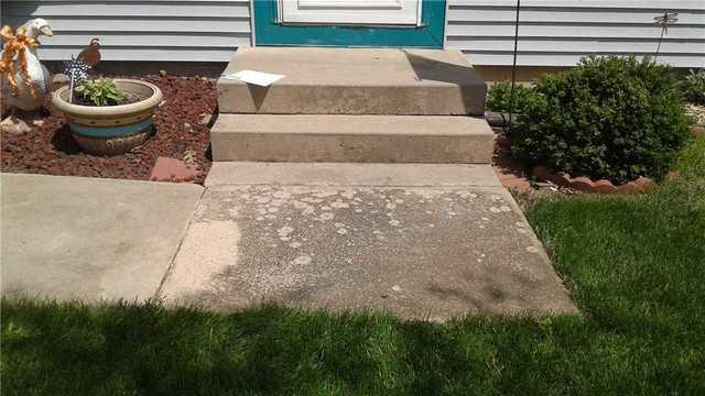Solving a Tripping Hazard with PolyLevel in Westfield, WI - After Photo