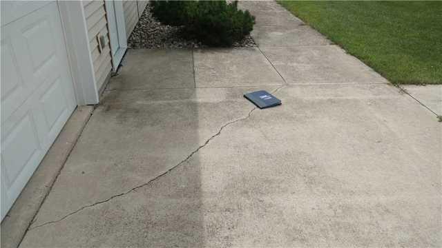 Sealing Cracks with NexusPro in Mayville, WI