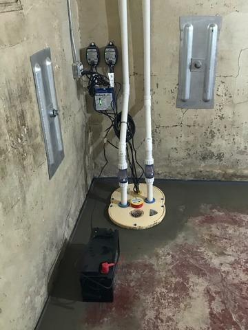 Water Control and Wall Stabilization in Cedar Grove, WI