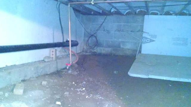 Crawl Space Encapsulation and Dehumidification in Athelstane, WI