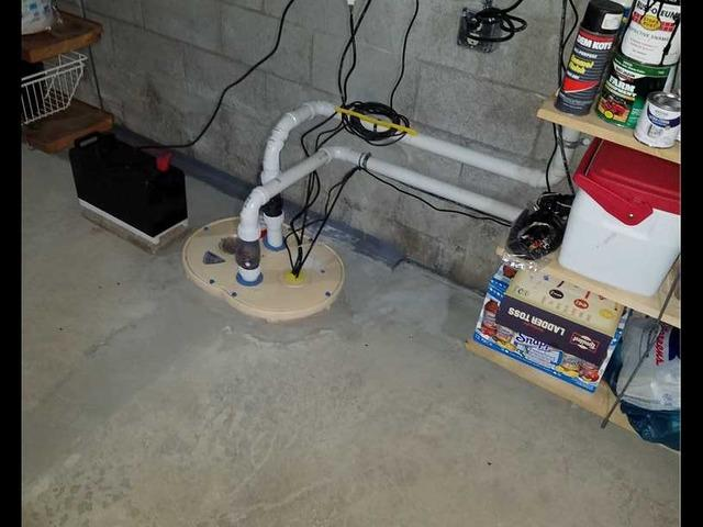 Sump Pump Upgrade in Hancock, WI