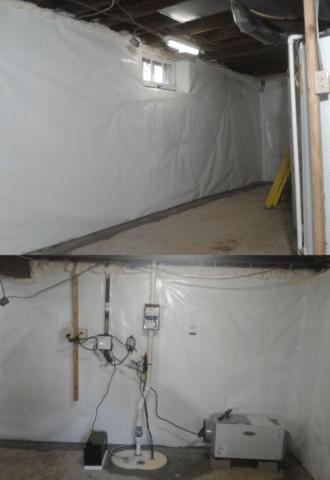 Stone Foundation Waterproofing in Wausau, WI