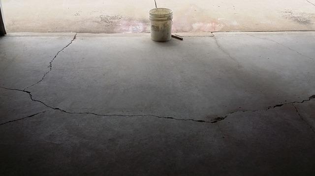 Repairing Garage Floor Cracks in Dunbar, WI