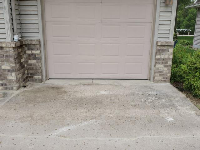 Lifting and Leveling a Driveway in Omro, WI