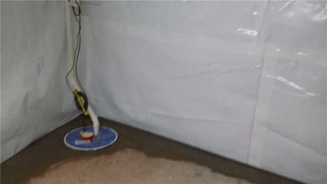 Omro, WI CleanSpace & Sump Pump Install