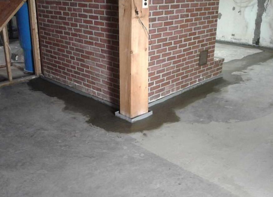 Durham, NH Basement Waterproofed Properly with WaterGuard Piping - After Photo
