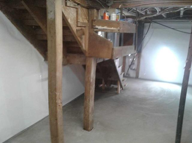 WaterGuard & CleanSpace Installations Protect Boothbay, ME Basement - After Photo