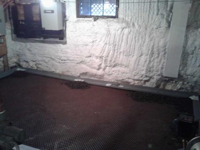 WaterGuard & Drainage Matting Installation Protect Auburn, ME Basement from Flooding