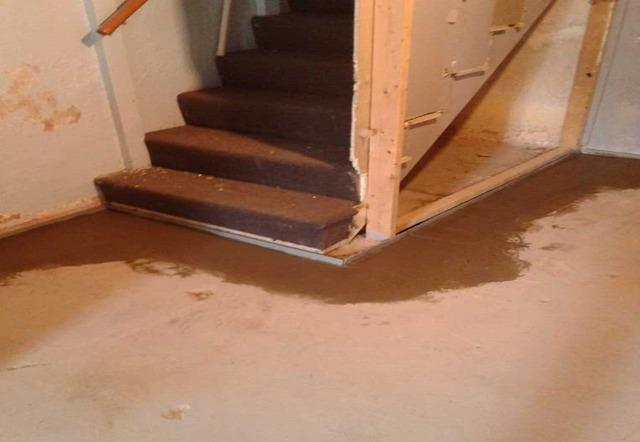 Kittery, ME Basement Properly Waterproofed Following Recent Flooding