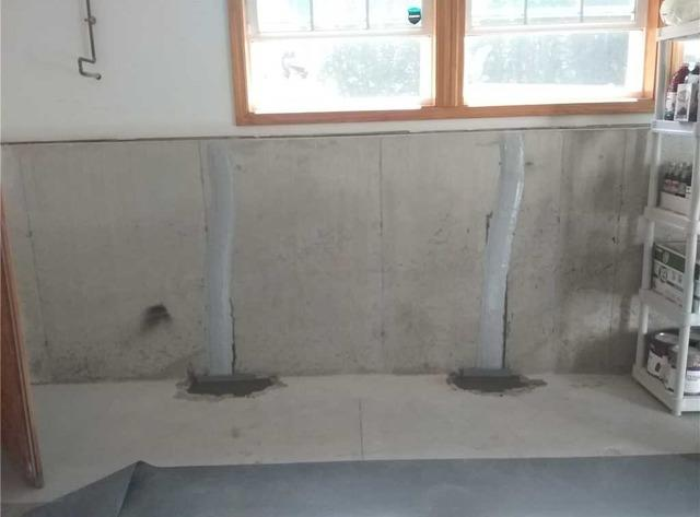 FlexiSpan Installation Protects Corinth, ME Garage from Leaking Water