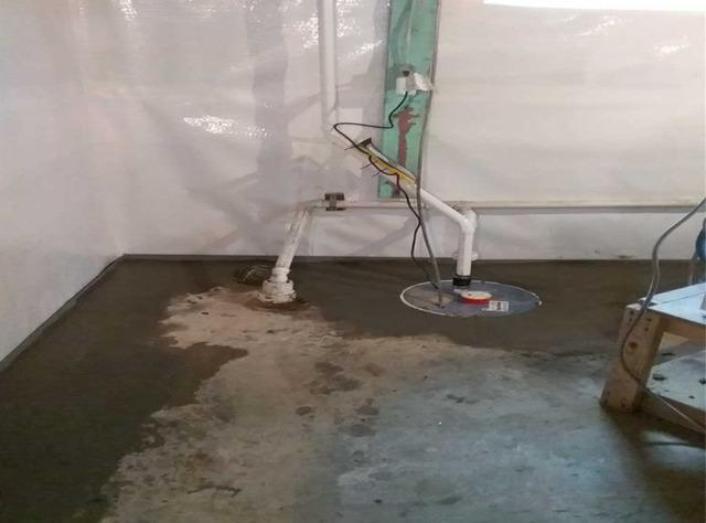 Wet Basement in Dover, NH Receives Needed WaterGuard Waterproofing