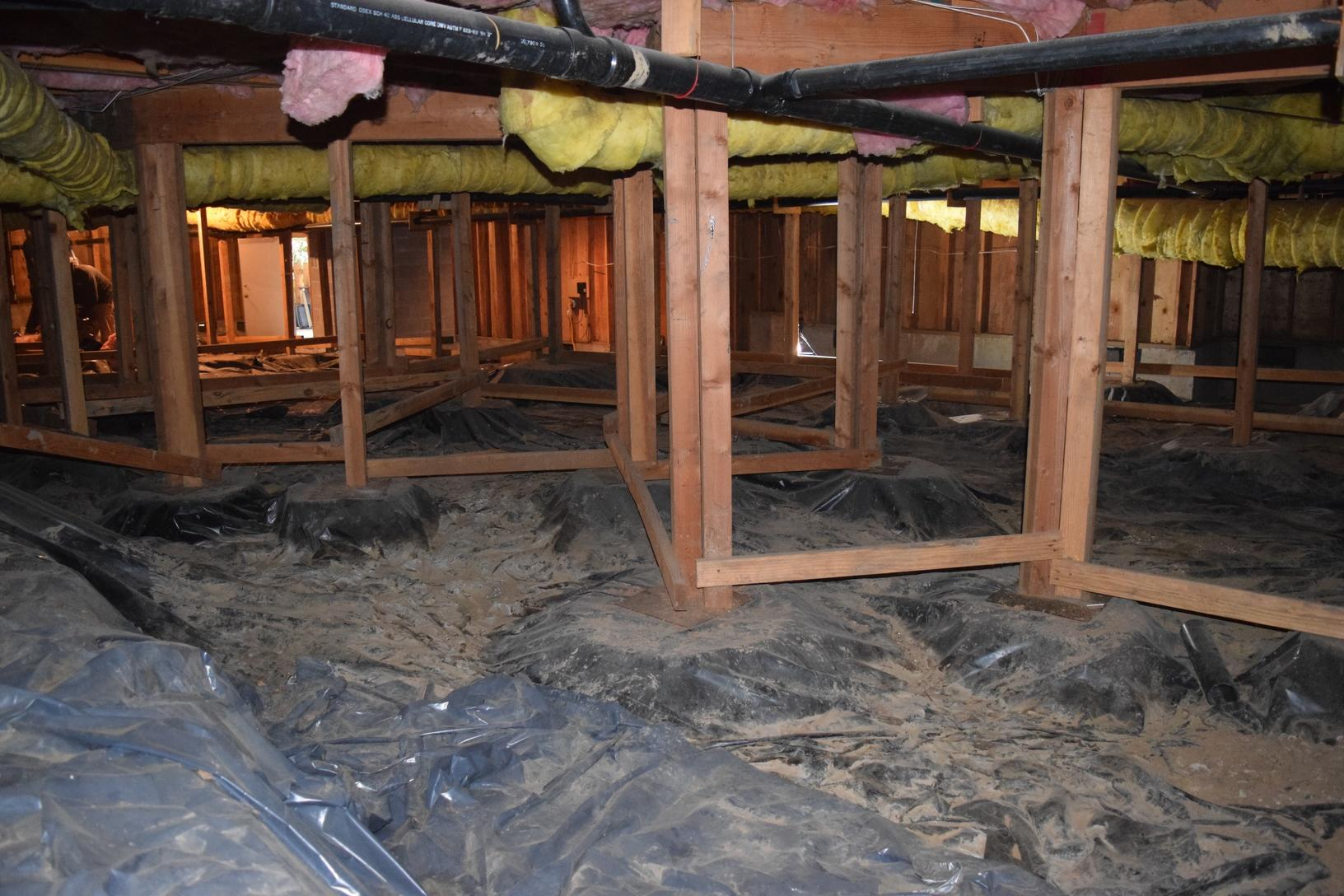 How much of the air in your home comes from your crawl space?