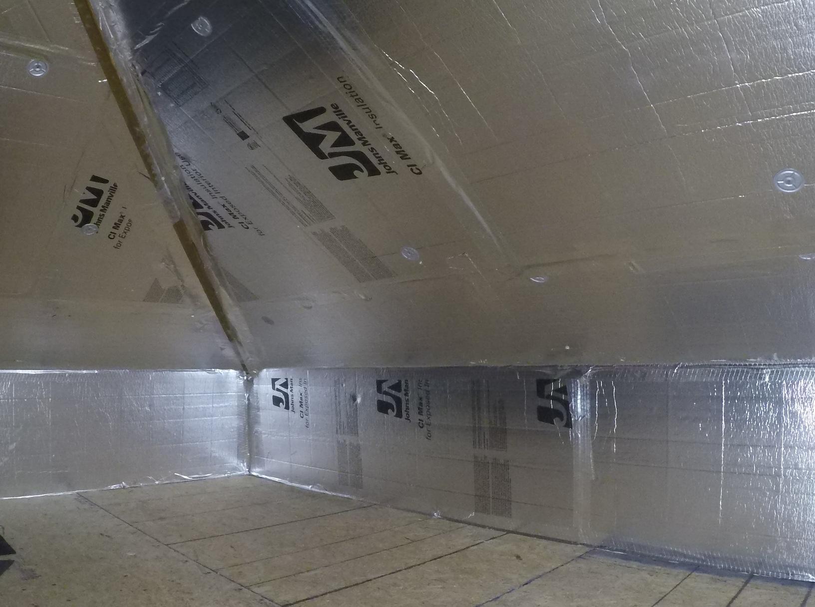 Sandston, VA Radiant Barrier Insulation Board - After Photo