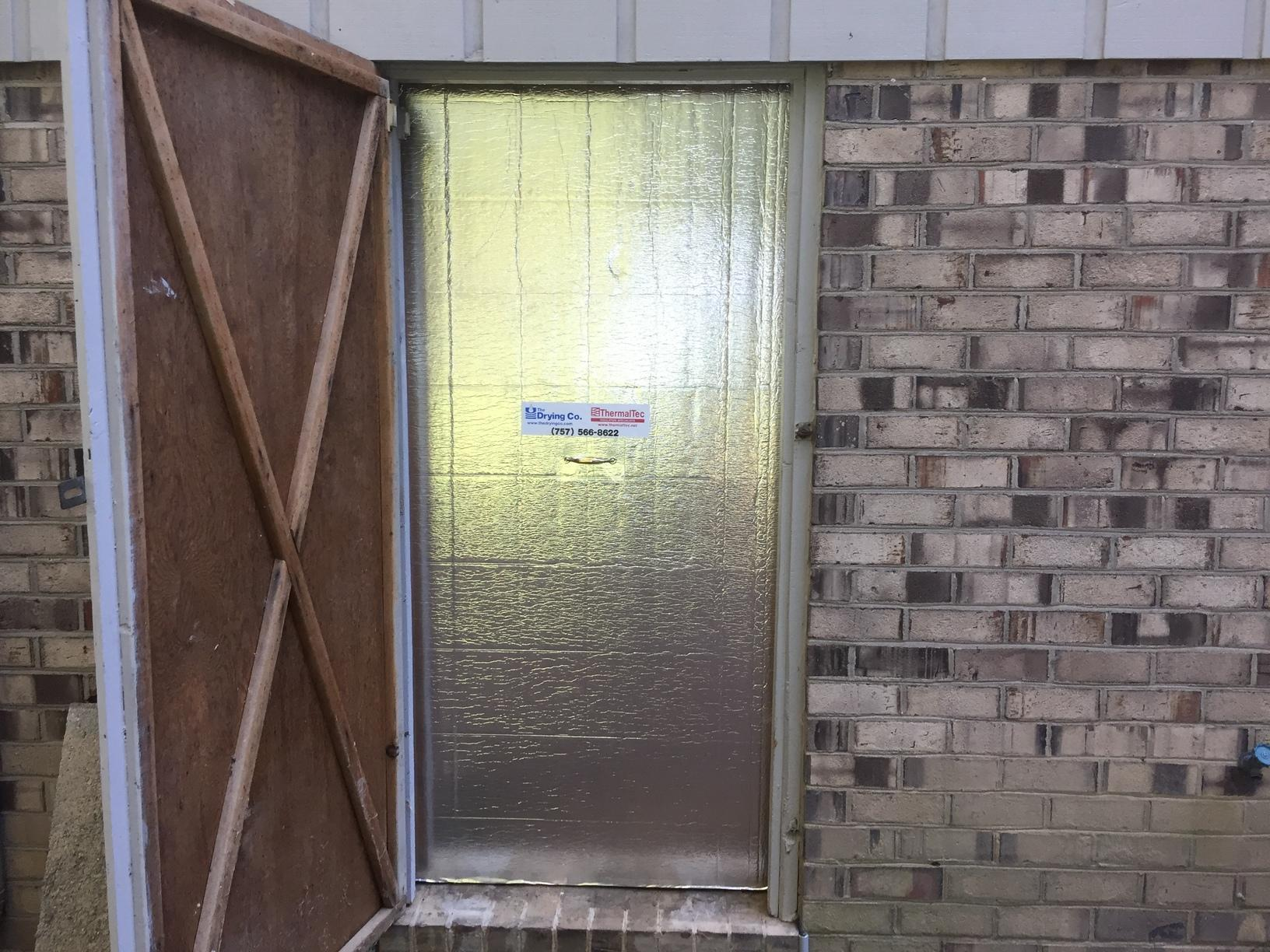 Friction Fit Door - Richmond Crawl Space Encapsulation - After Photo