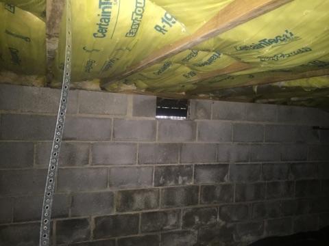 Spray Foam - Richmond Crawl Space Encapsulation - Before Photo