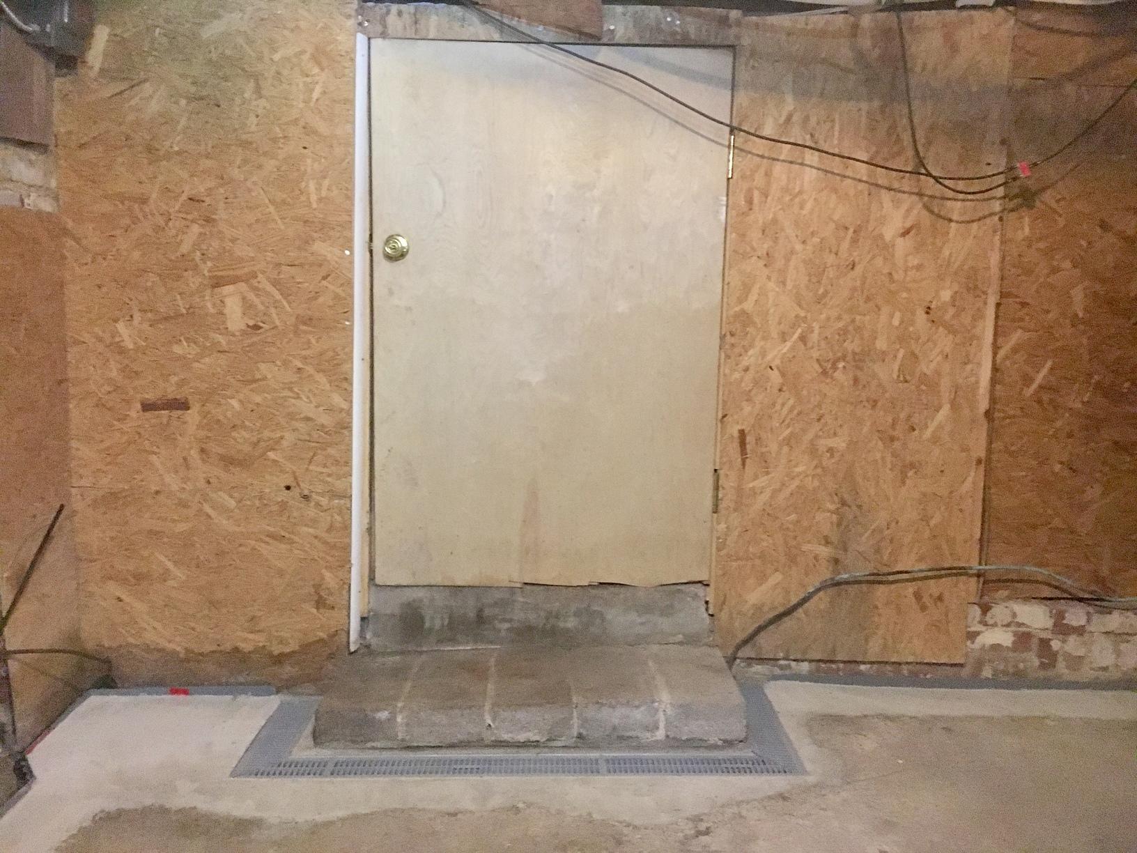 Trench Drain - Basement Waterproofing - Petersburg, VA - After Photo