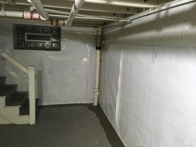 Basement Waterproofing in Richmond, VA with WaterGuard, SuperSump, and CleanSpace - After Photo