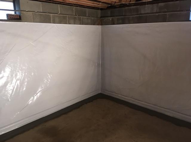 Basement Waterproofing Saluda, VA - After Photo