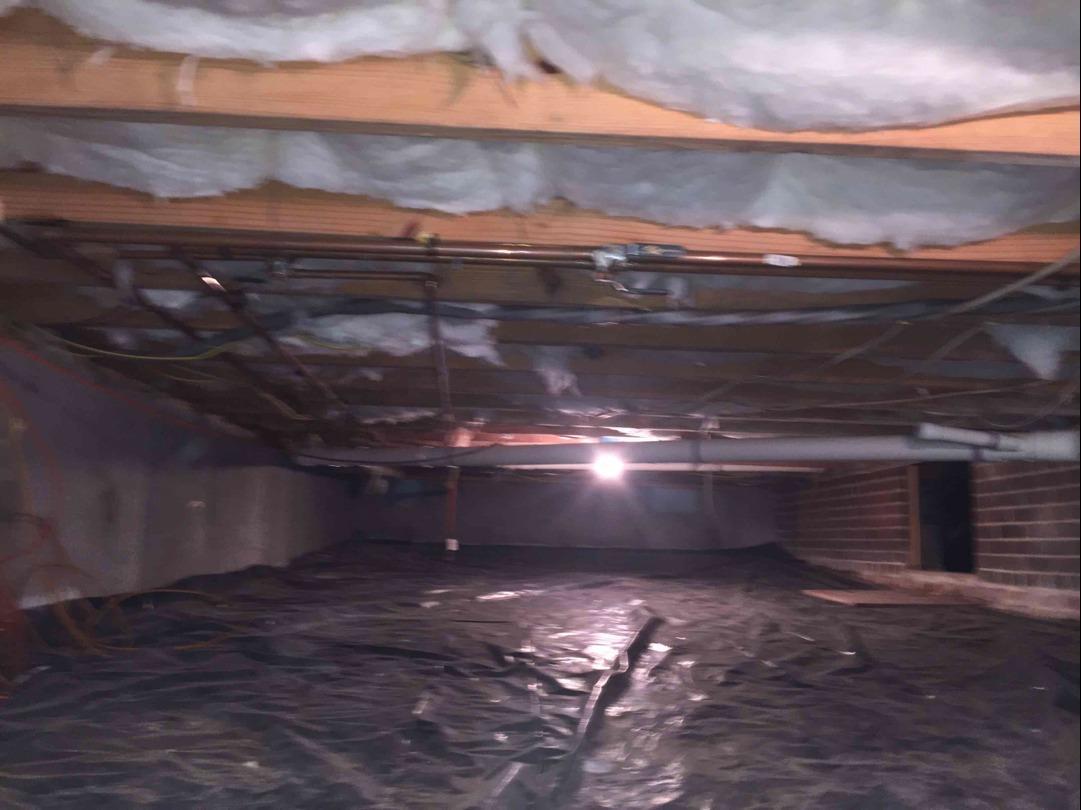 Encapsulating a Henrico, VA Crawl Space - Before Photo