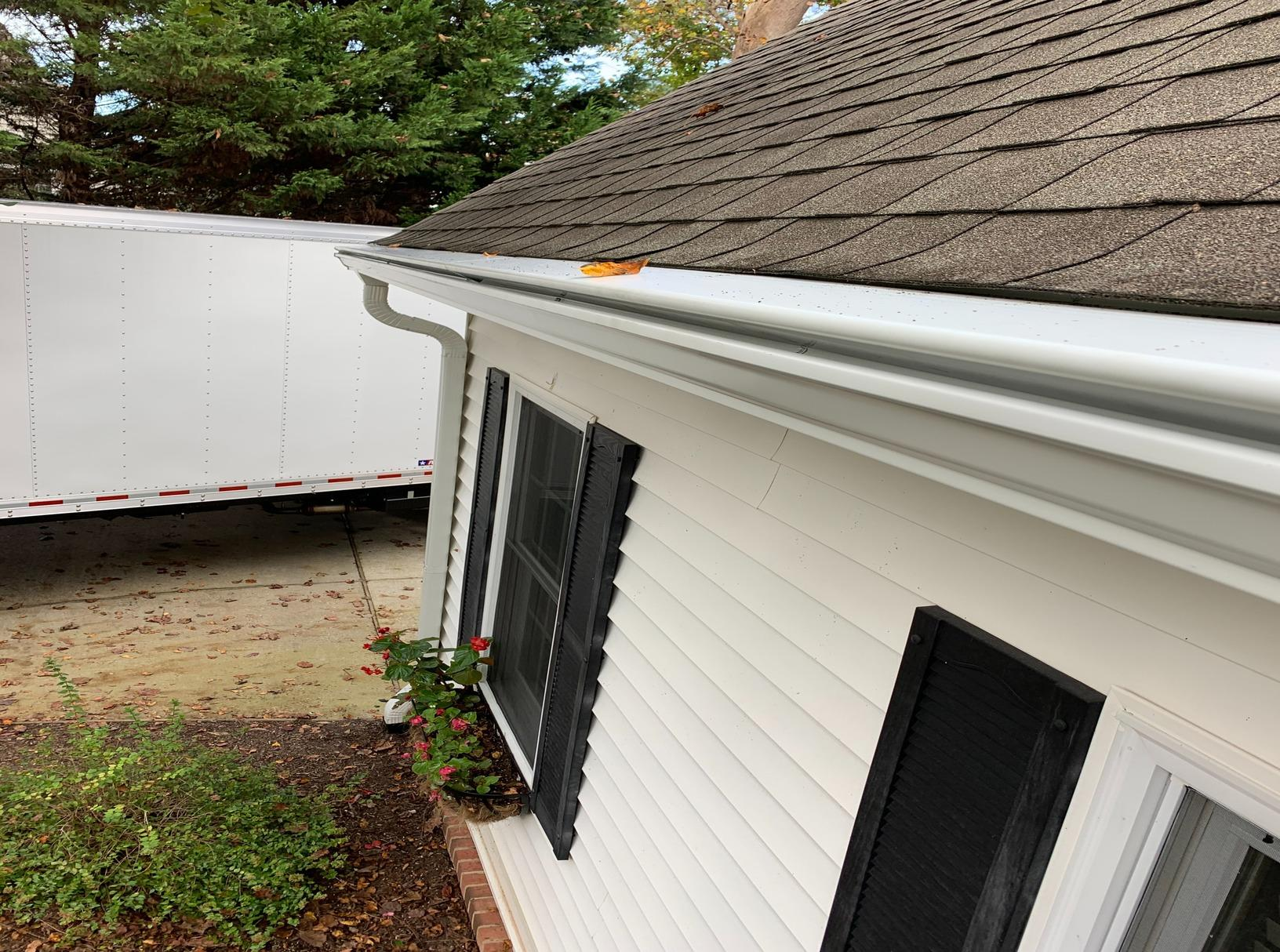 Gutter Installation in Toano, VA - After Photo