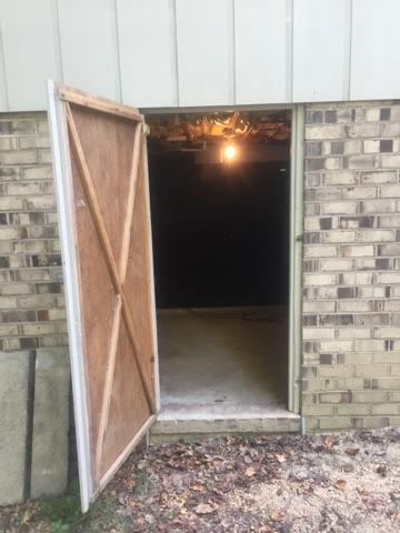 Friction Fit Door - Richmond Crawl Space Encapsulation - Before Photo