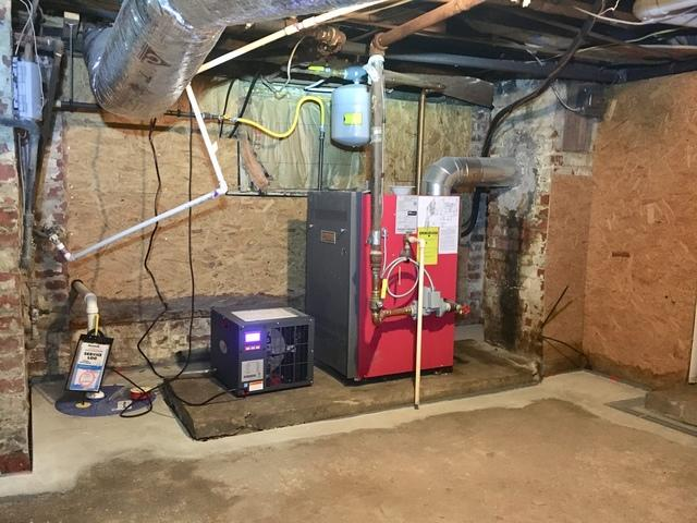 Dehumidifier & Sump Pump - Basement Waterproofing - Petersburg, VA