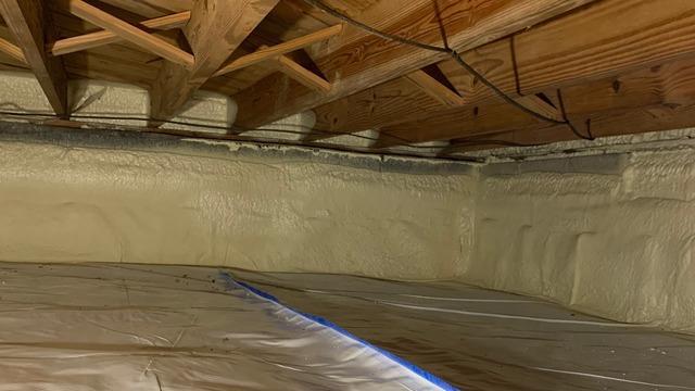 CleanSpace & Spray Foam in Williamsburg, VA Crawl Space
