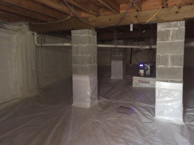 Crawl Space Encapsulation - Williamsburg, VA