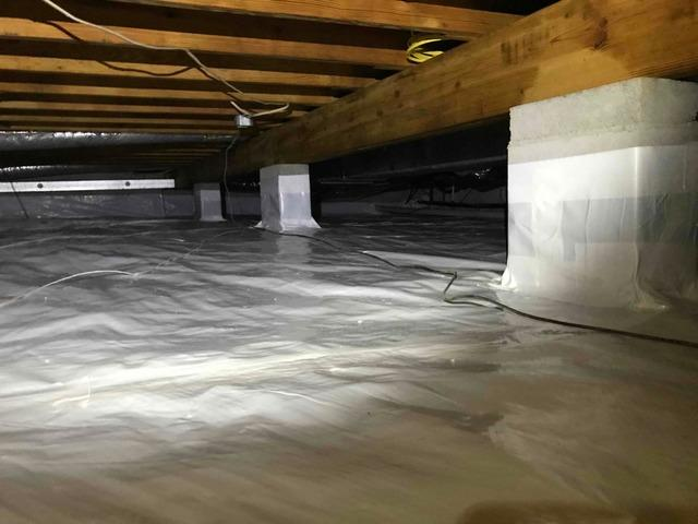 Irvington, VA Crawl Space Encapsulation
