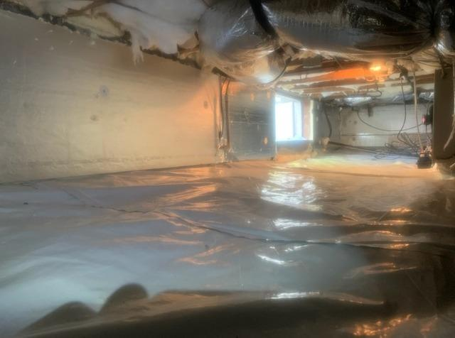 Insulating a North Chesterfield, VA Crawl Space - After Photo
