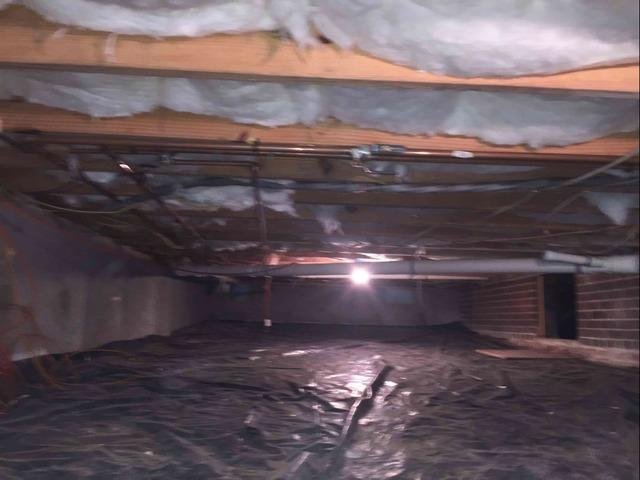 Encapsulating a Henrico, VA Crawl Space