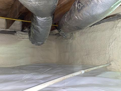 Crawl Space Encapsulation in Bruington, VA