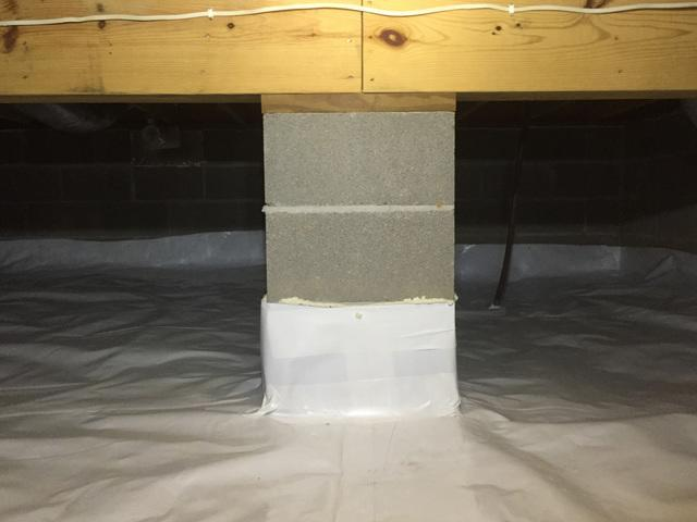 Ford's Colony, Williamsburg Crawl Space Encapsulation