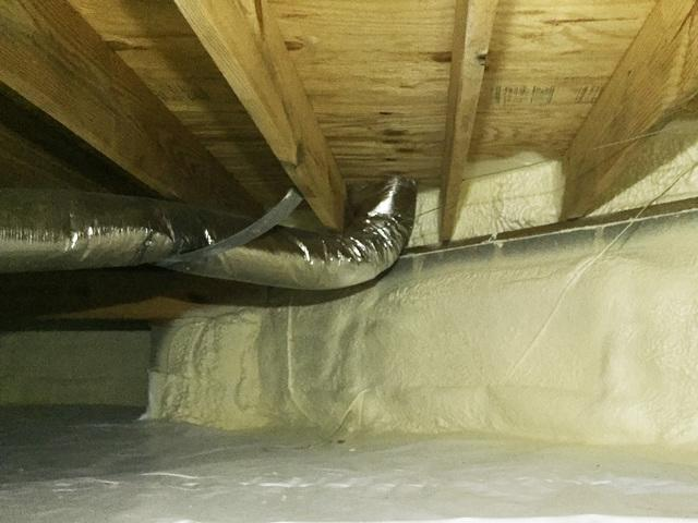 Crawl Space Encapsulation in Ford's Colony, Williamsburg