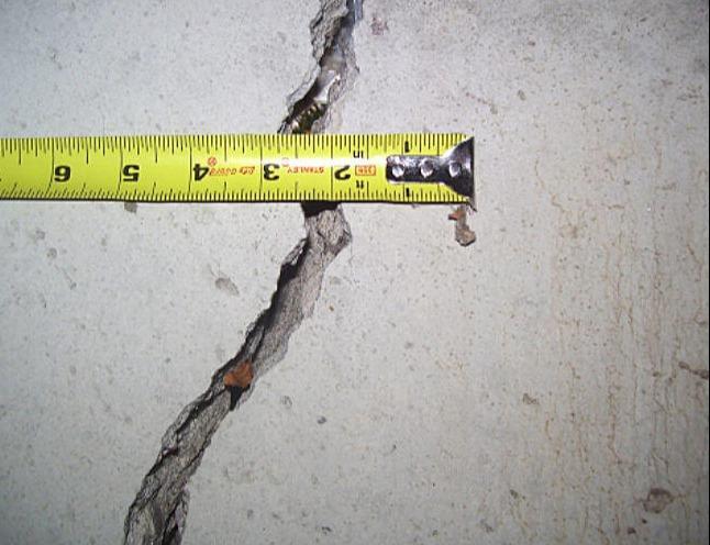 Foundation Crack Repair in Overland Park, KS - Before Photo