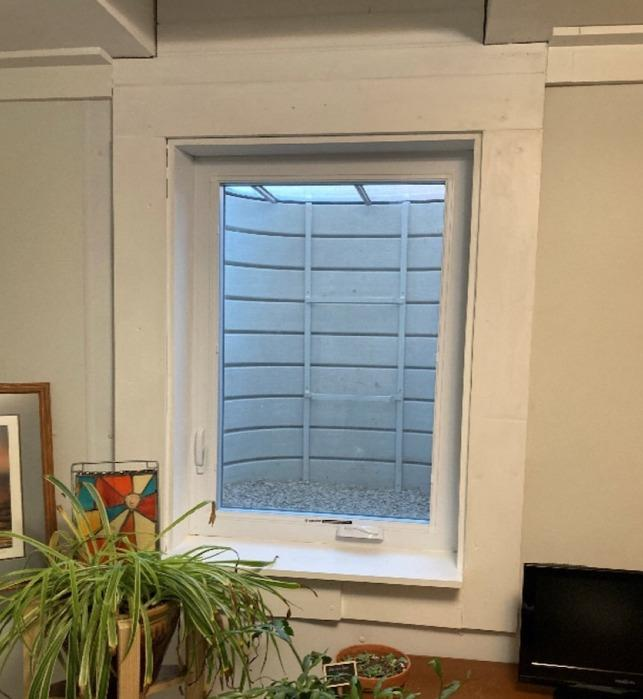 Egress Window Solution Adds Resale Value in Wichita - After Photo